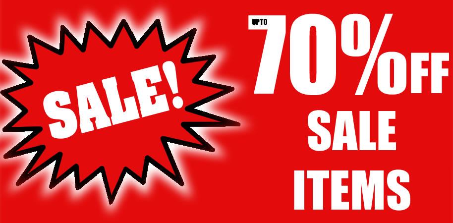 Upto 70% Off Sale Items