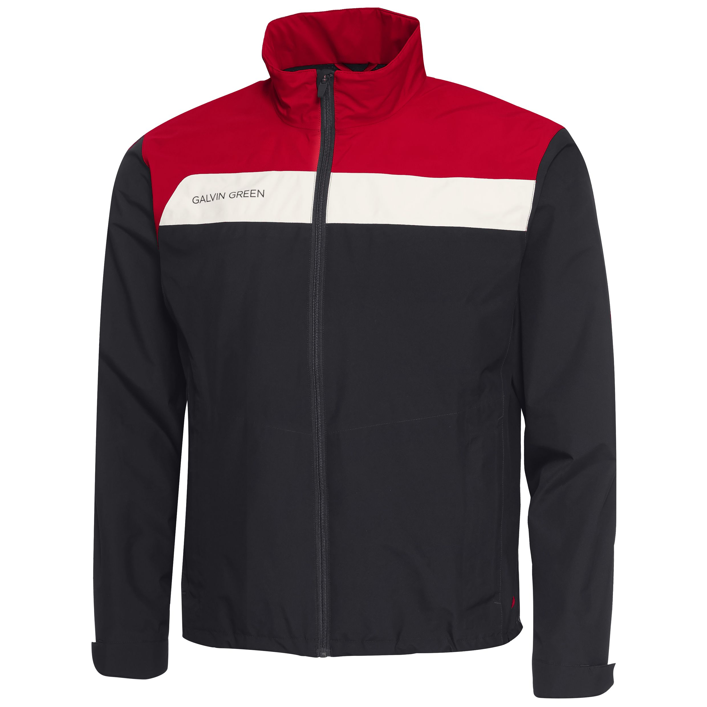 00f8bf5f0 Galvin Green Austin Gore-Tex Waterproof Golf Jacket Black/Red/Snow |  Scottsdale Golf