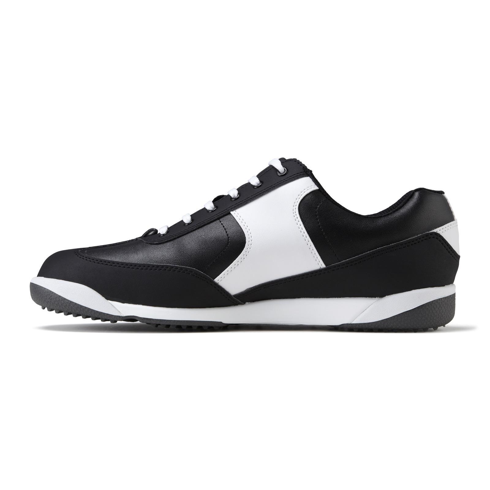 footjoy awd xl casual golf shoes 57868 black white royal