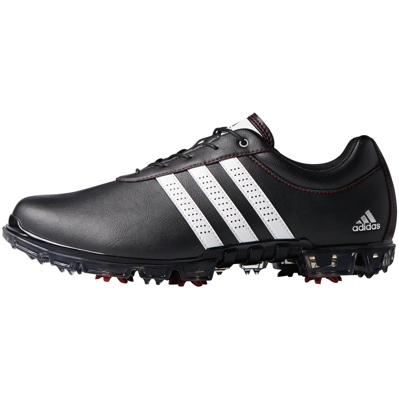 adidas adipure flex scarpe da golf nucleo nero / bianco / potere rosso