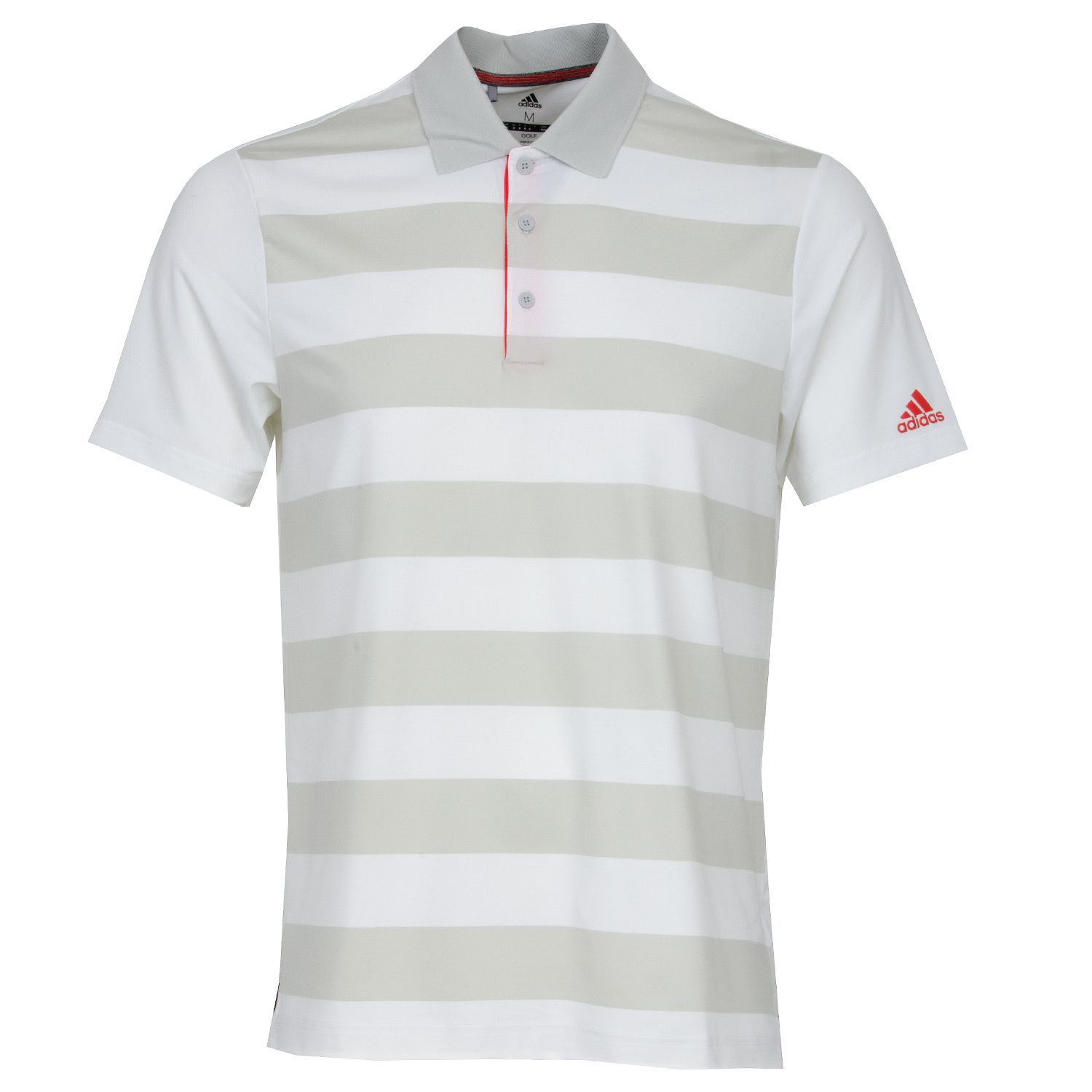 reputable site 0b99d 4c403 adidas Ultimate 365 Rugby Polo Shirt White Grey   Scottsdale Golf