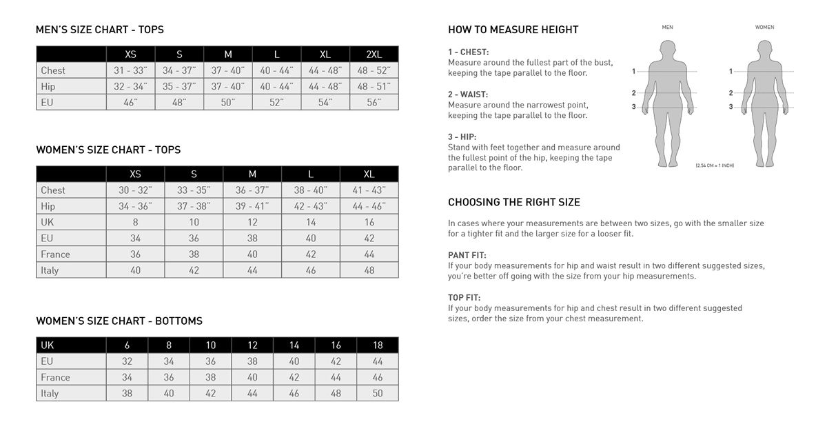 adidas fitting guide for shirts