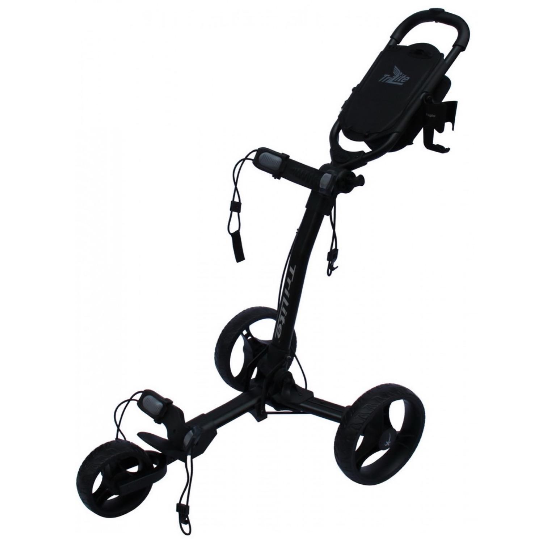Axglo TriLite 3-Wheel Push Golf Trolley