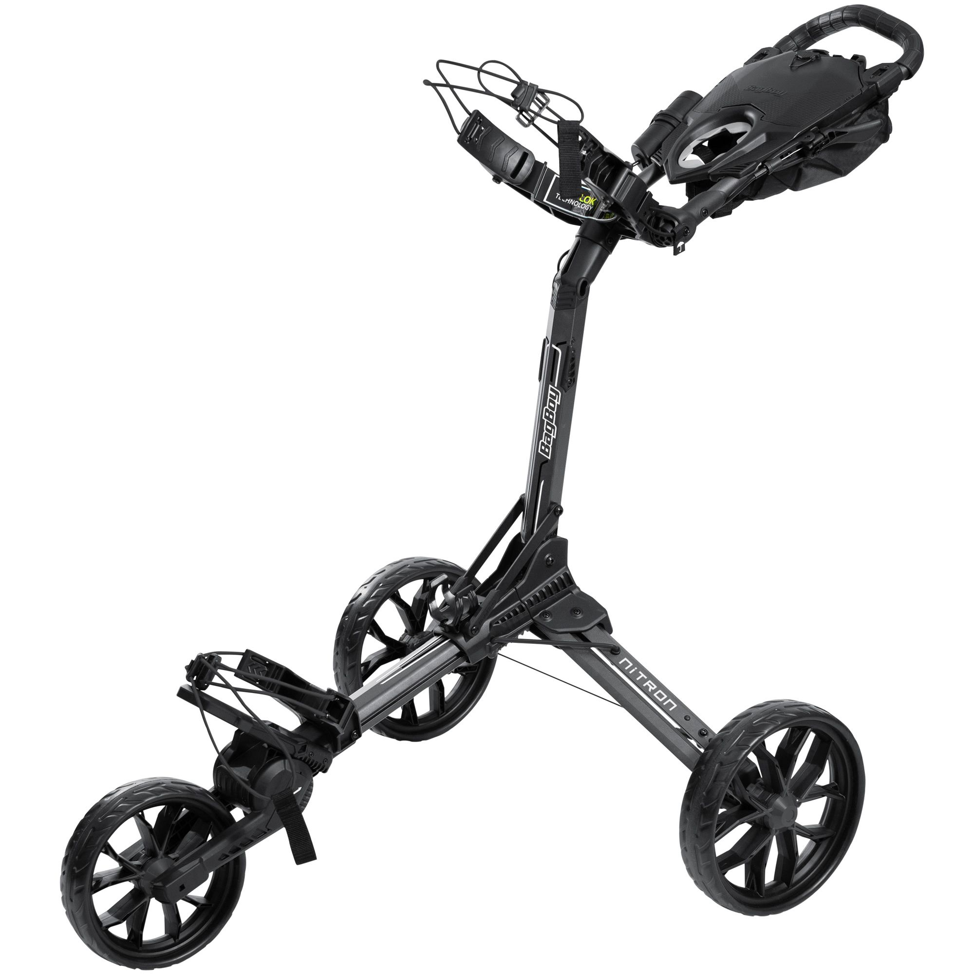 BagBoy Nitron Auto-Open Push Golf Cart