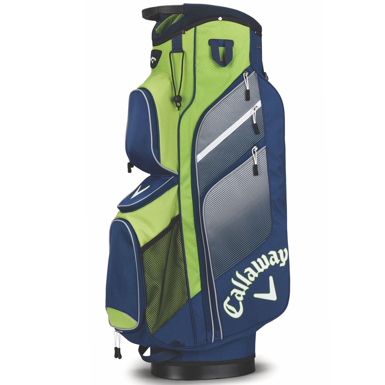 2e035f9bb1 Callaway 2018 Chev Org Golf Cart Bag Navy Green Silver