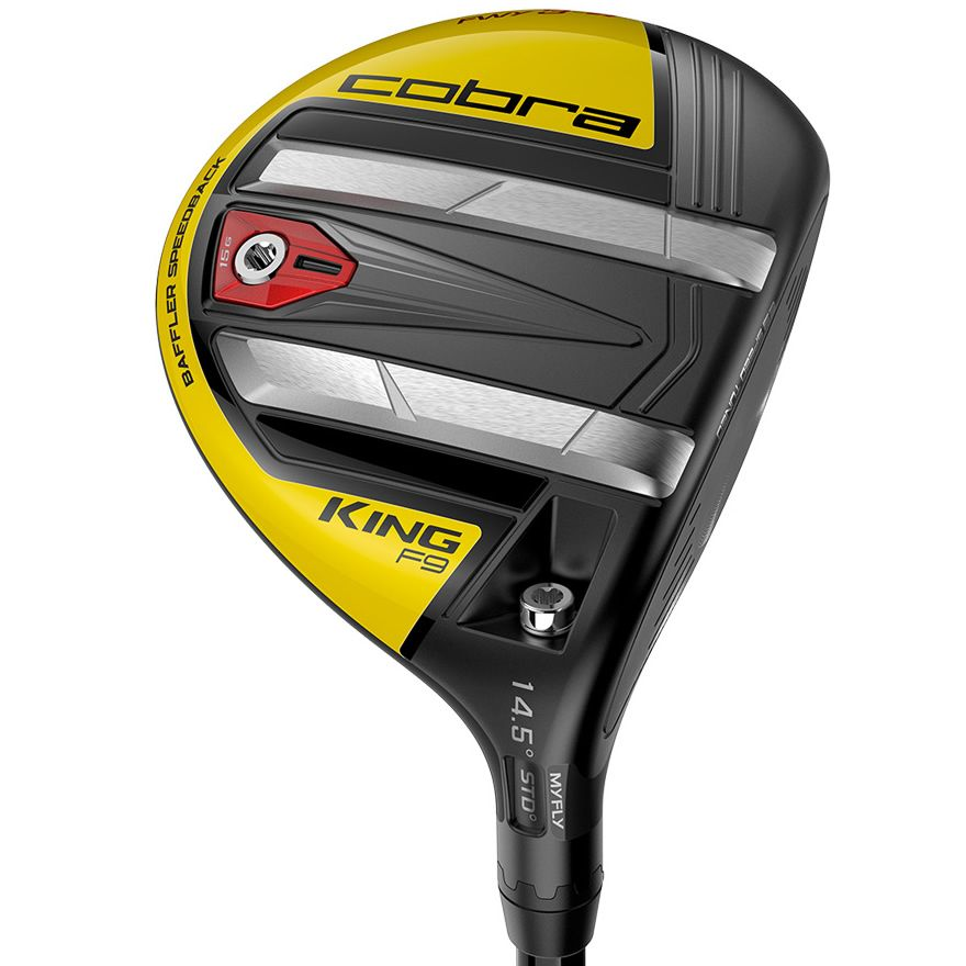 Cobra KING F9 Speedback Golf Fairway Black/Yellow