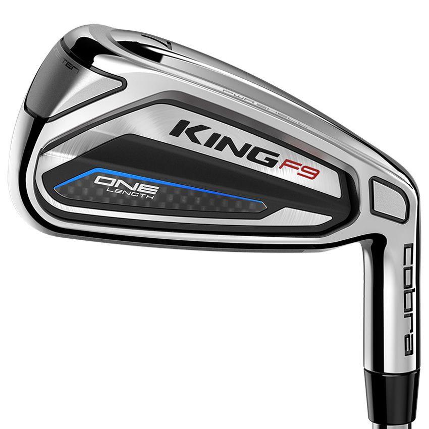 Cobra KING F9 One Length Golf Irons Steel