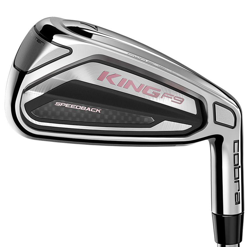 Cobra KING F9 Ladies Golf Irons Graphite