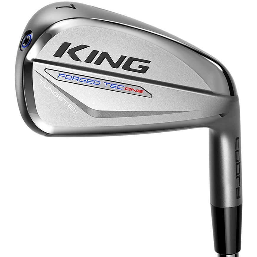 Cobra KING Forged Tec One Length Golf Irons Steel