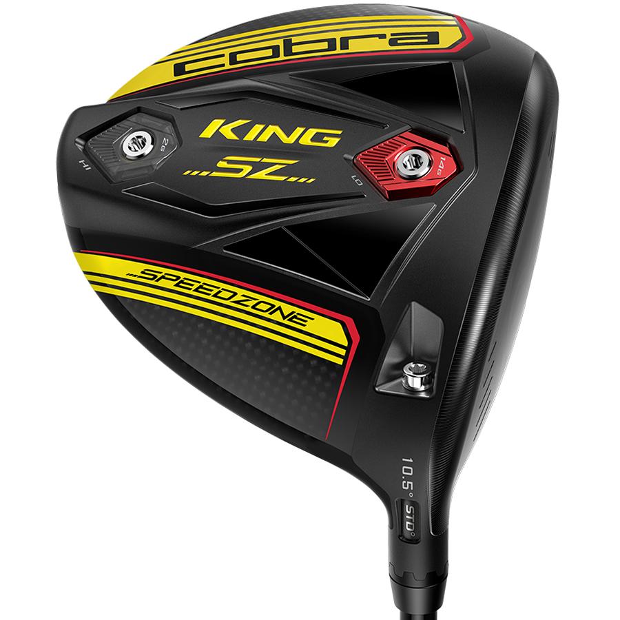 Cobra KING Speedzone Golf Driver Gloss Black/Yellow