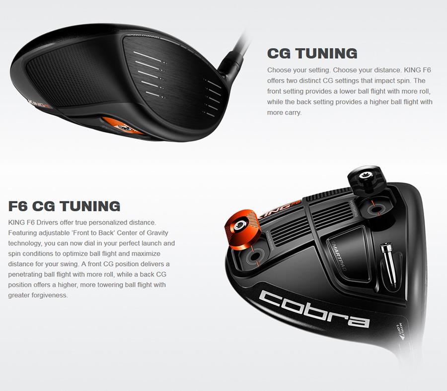 Cobra F6 Driver Features