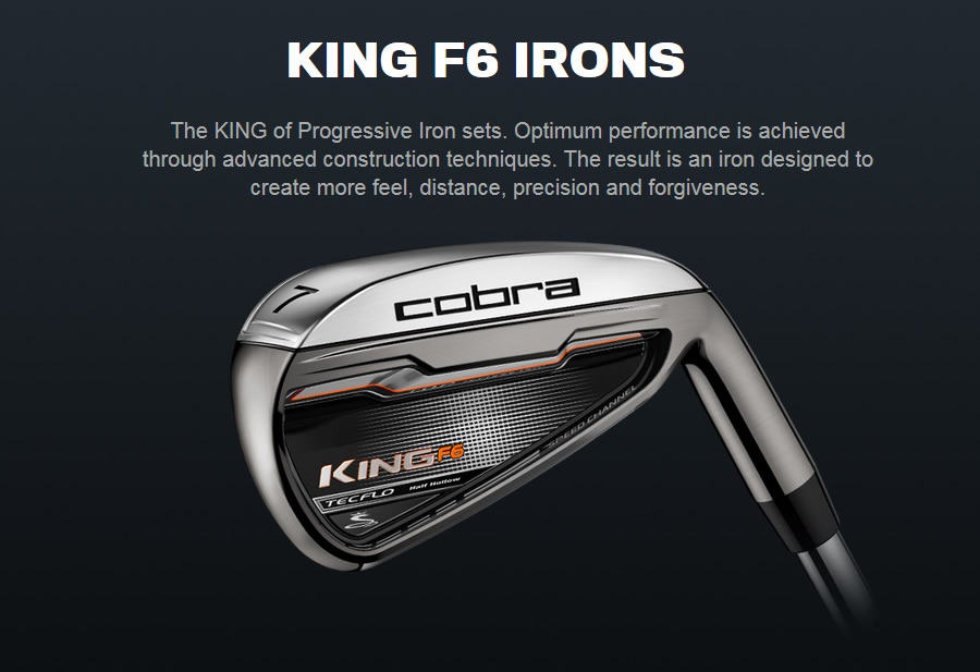 Cobra F6 Irons