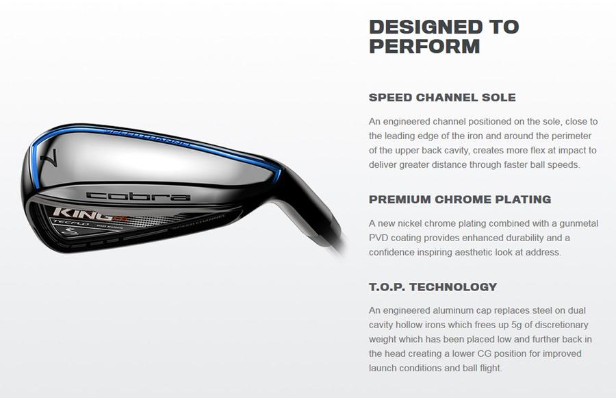 Cobra F6 Irons Features