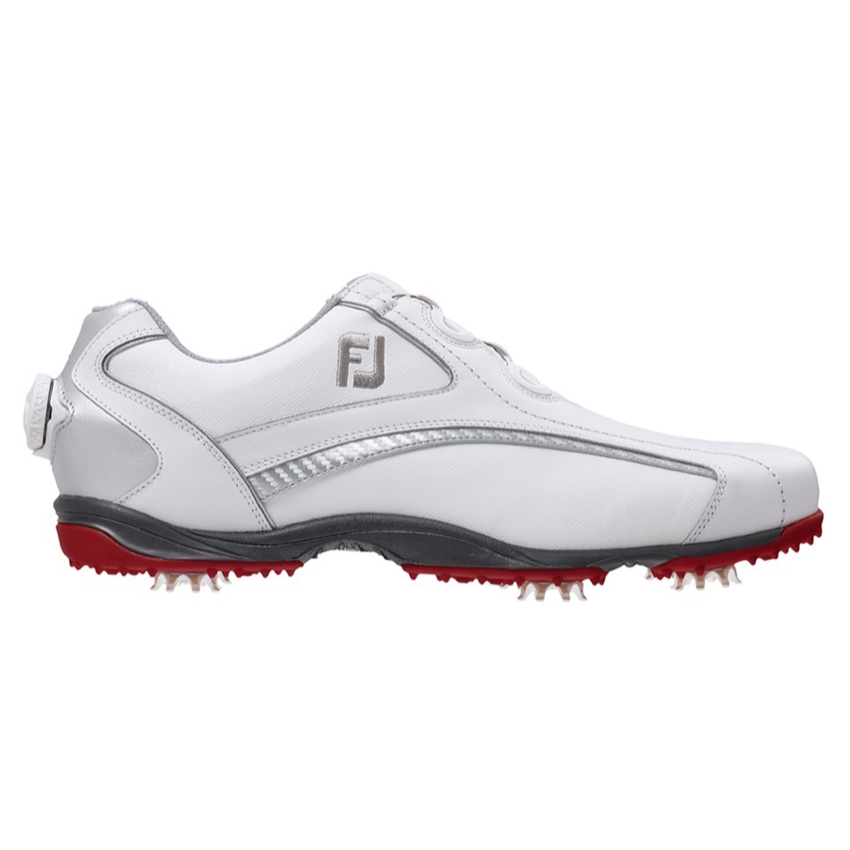 footjoy hydrolite boa golf shoes white silver 50077