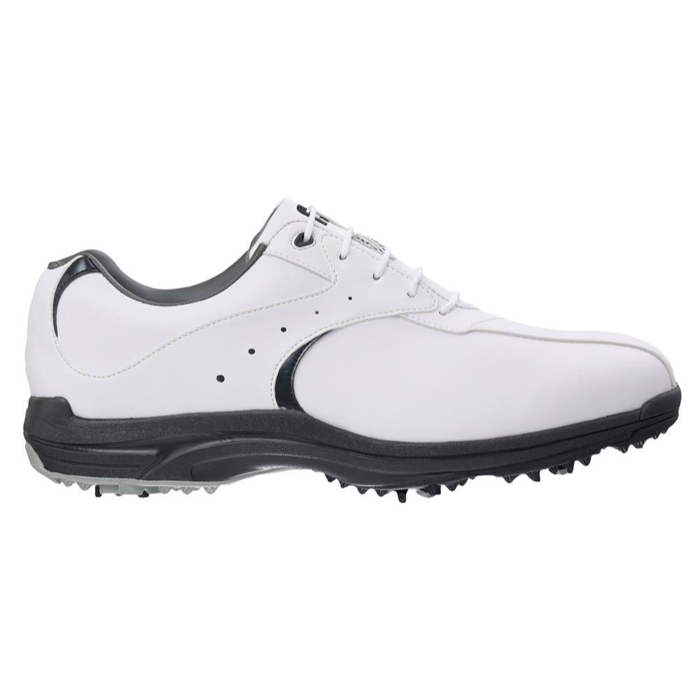 footjoy greenjoys golf shoes white white black 45419
