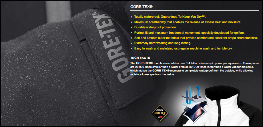 Galvin Green Gore-Tex Technology