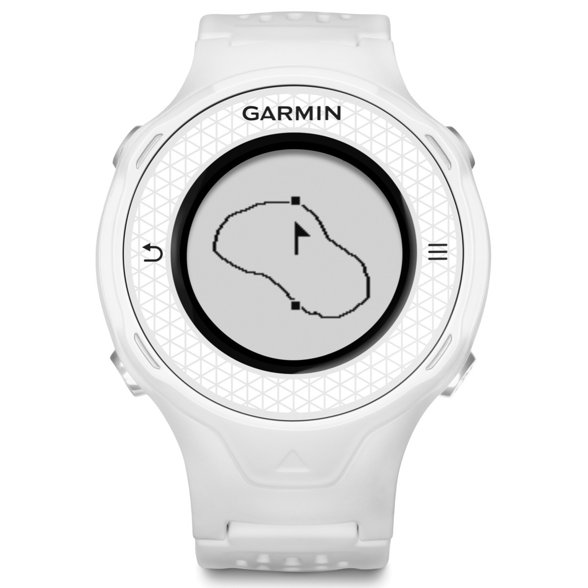 Garmin Approach S4 White Gps Watch