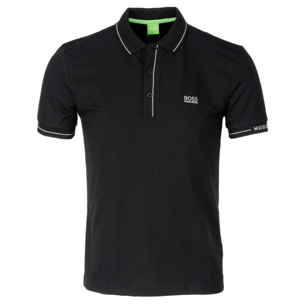 Hugo Boss Paule Polo Shirt Black Scottsdale Golf