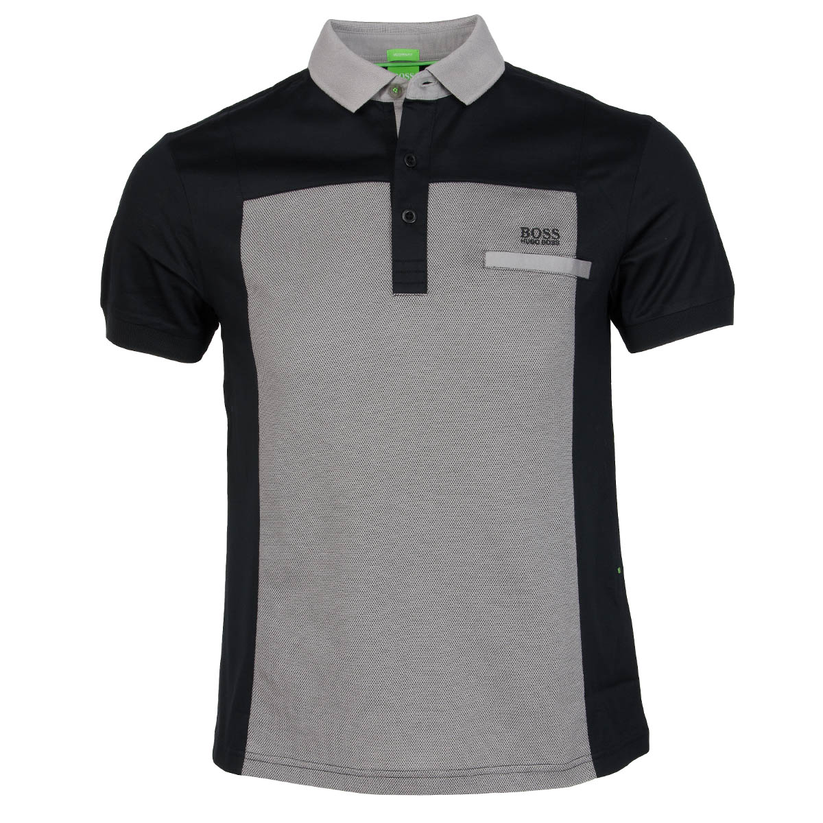 hugo boss pavel polo shirt black scottsdale golf. Black Bedroom Furniture Sets. Home Design Ideas