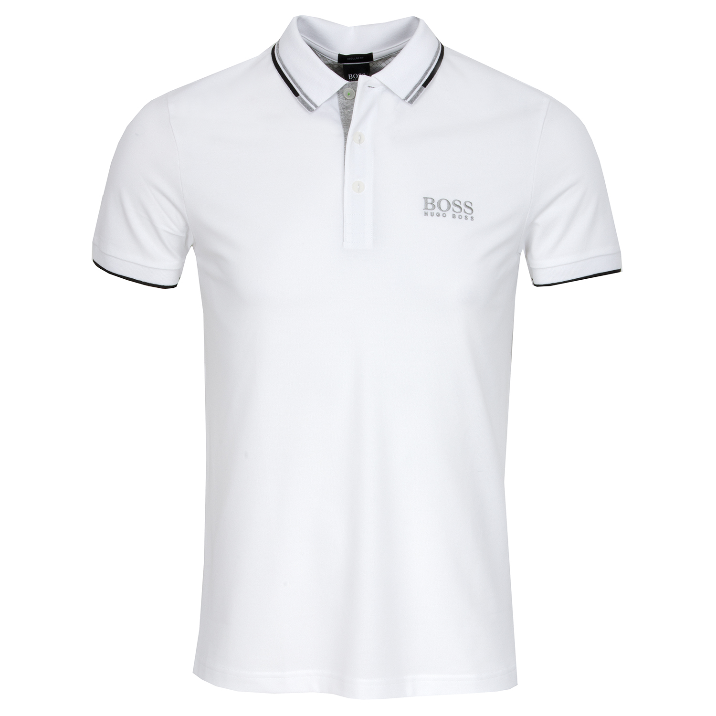 30b0804d1 HUGO BOSS Paddy Pro Polo Shirt White SP18   Scottsdale Golf