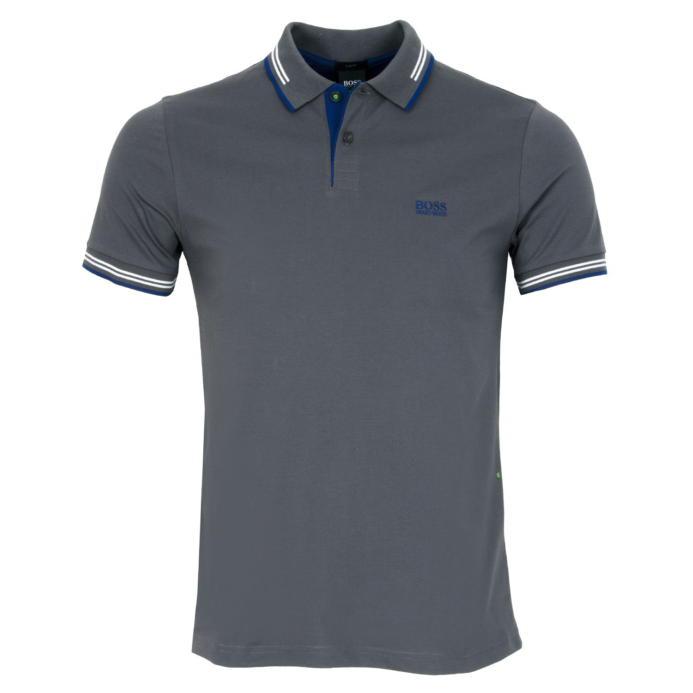9a86c27f BOSS Paul Polo Shirt Dark Grey | Scottsdale Golf