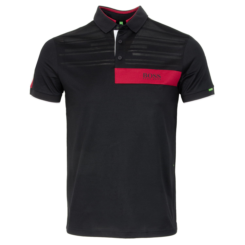7dd71d14a BOSS Paddy MK 1 Polo Shirt Black | Scottsdale Golf