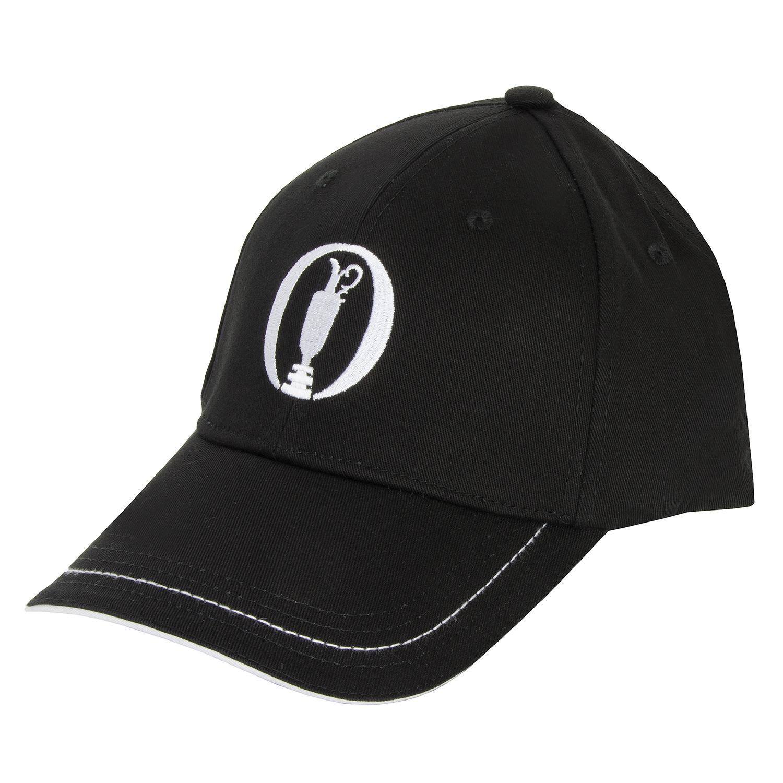 BOSS ATHLEISURE Cap 1 Baseball Cap Black - The Open Championship Collection   31ebc422b38e