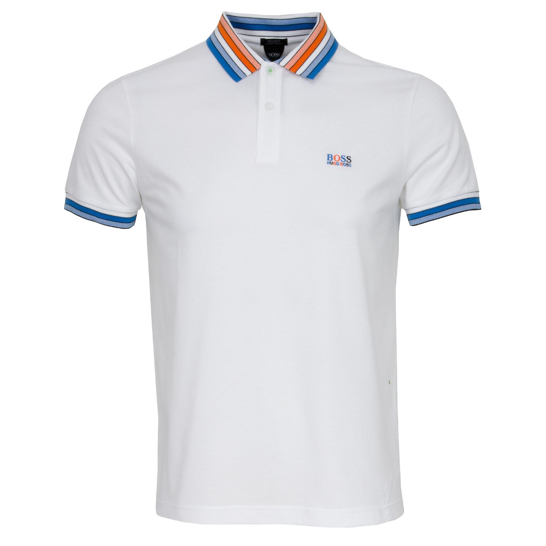 9c8902e53 HUGO BOSS ATHLEISURE Paddy 1 Polo Shirt White | Scottsdale Golf