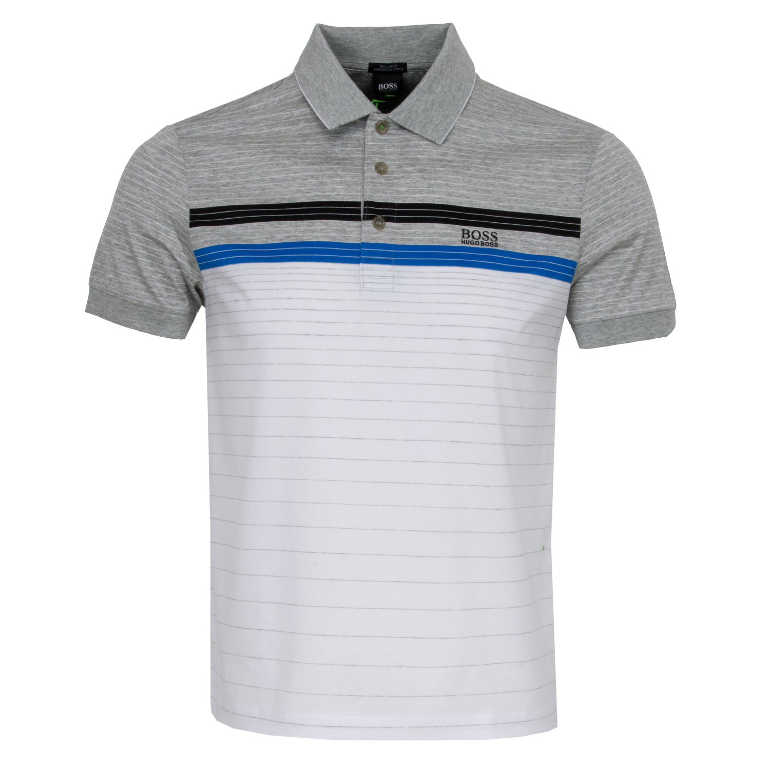 36f603efa HUGO BOSS ATHLEISURE Paddy 3 Polo Shirt White | Scottsdale Golf