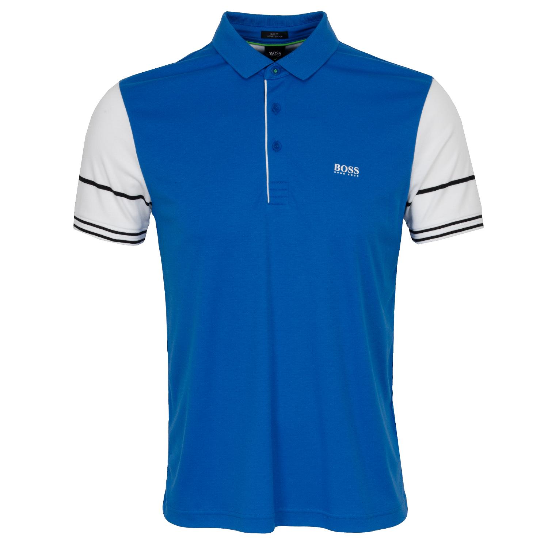 c544129dc HUGO BOSS ATHLEISURE Paule 6 Polo Shirt Bright Blue | Scottsdale Golf