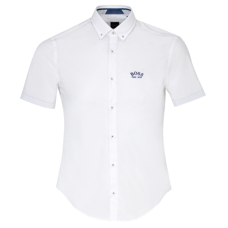 BOSS Biadia R Short Sleeve Dress Shirt