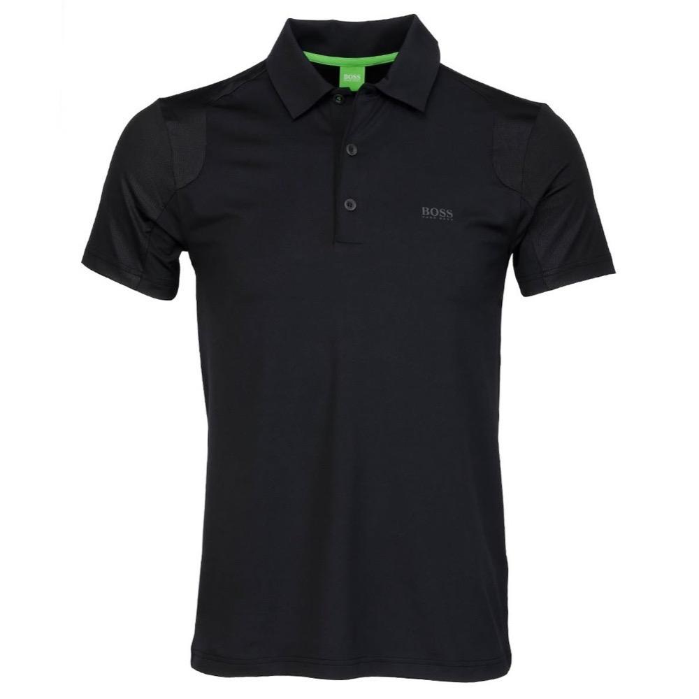 Hugo Boss Pavu Polo Shirt Black Scottsdale Golf