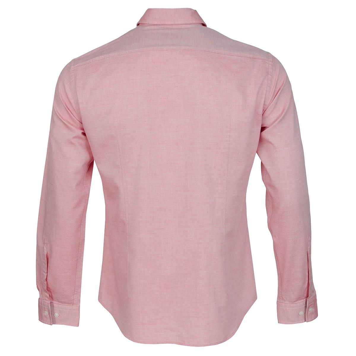 Hugo boss buster dress shirt open red scottsdale golf for Hugo boss formal shirts