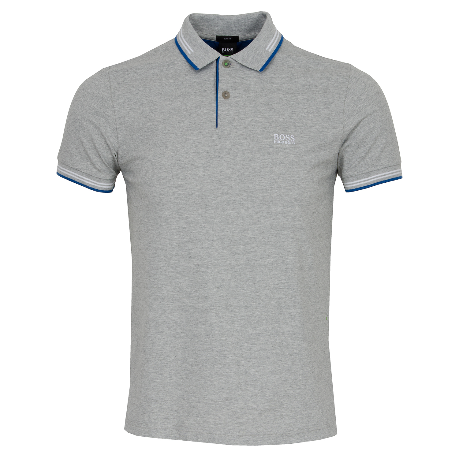 75cd5834e BOSS ATHLEISURE Paul Polo Shirt Open Grey SP18 | Scottsdale Golf