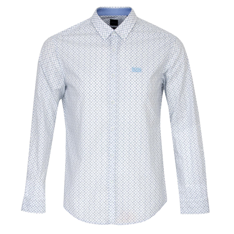 BOSS Biado Patterned Dress Shirt