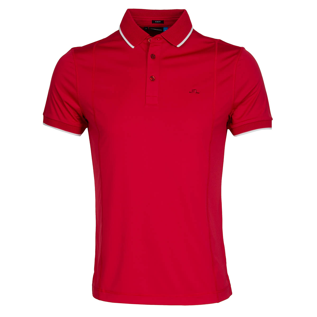 J lindeberg will tx polo shirt red intense scottsdale golf for Texas a m golf shirt