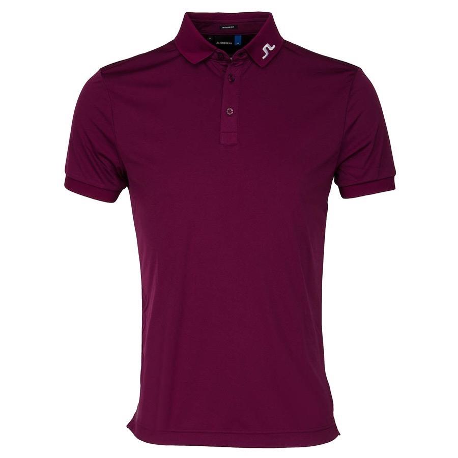 J lindeberg kv tx polo shirt plum scottsdale golf for Texas a m golf shirt