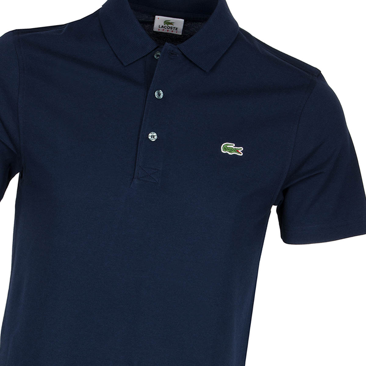 Lacoste sport polo shirt marine navy scottsdale golf for What is a sport shirt