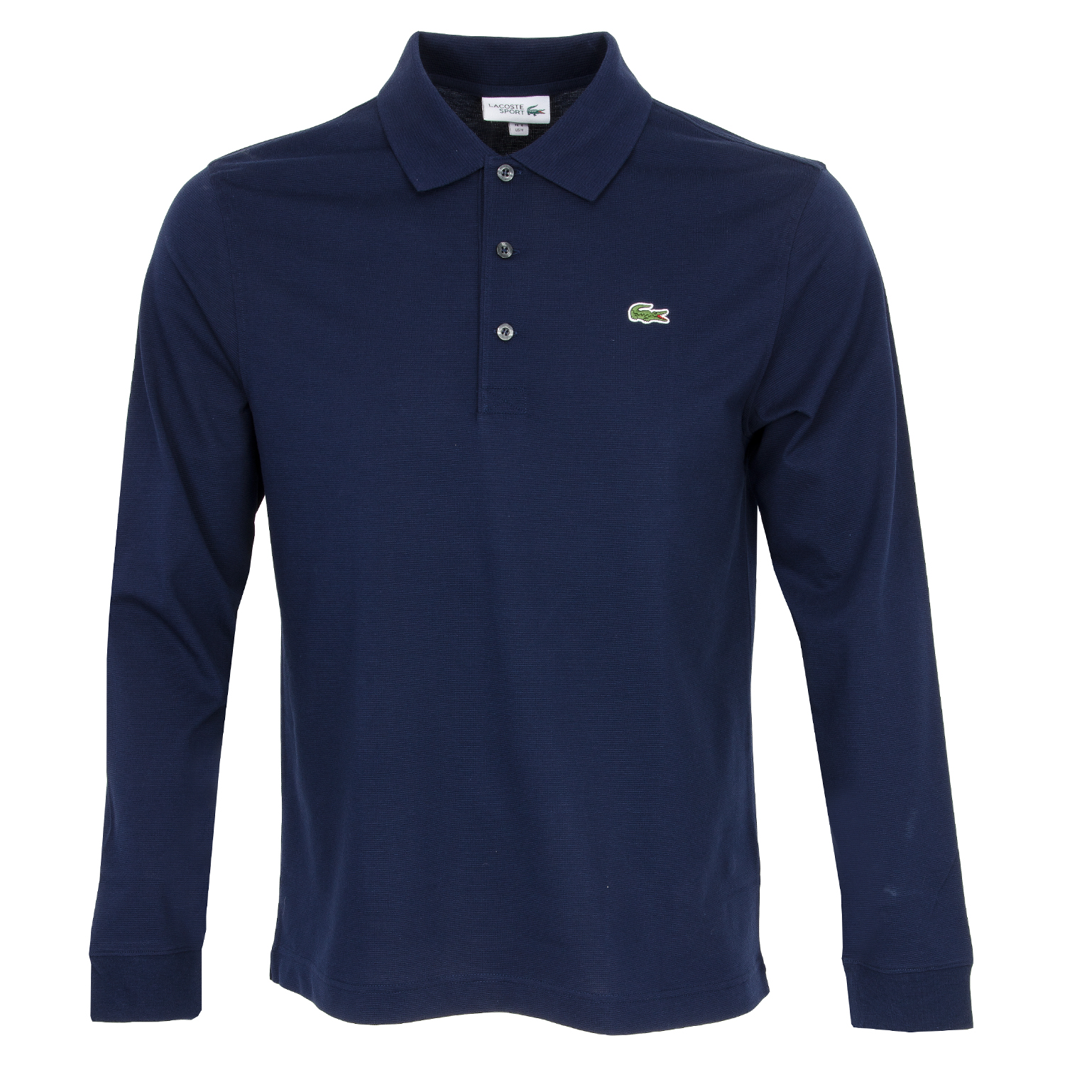c5cffaa0 Lacoste Sport Long Sleeved Polo Shirt Navy | Scottsdale Golf
