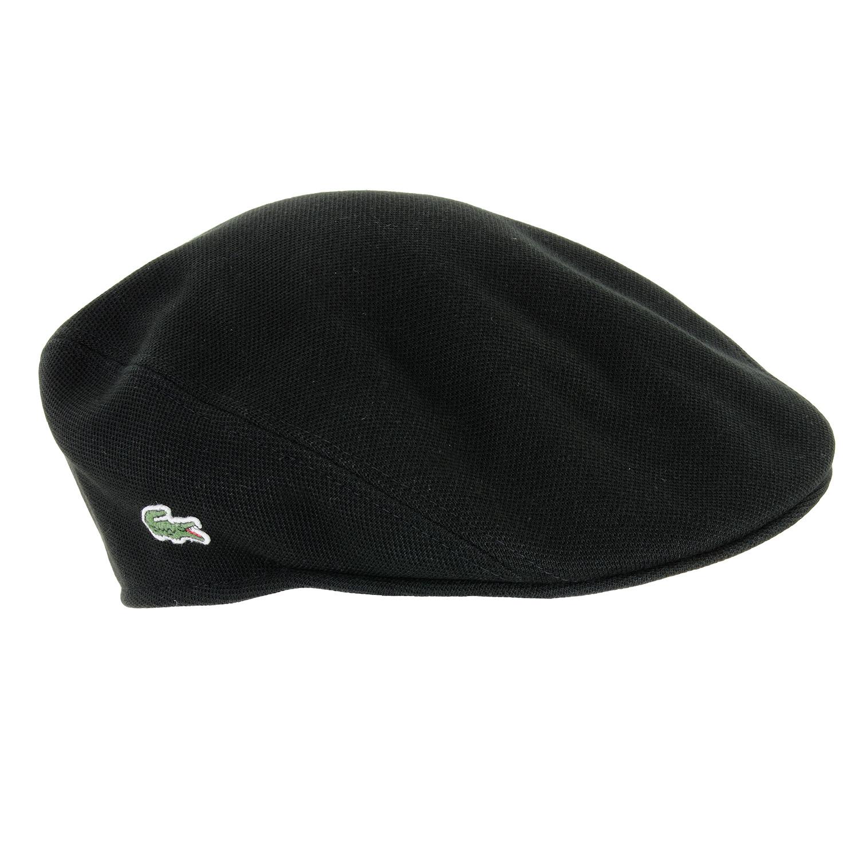 f69e8d9fe27 Lacoste Classic Cotton Flat Cap Black
