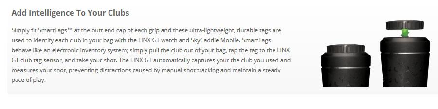 SkyCaddie Linx GT Tracking