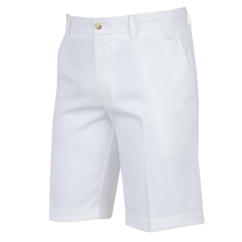 J Lindeberg Eloy Tapered Micro Stretch Shorts White
