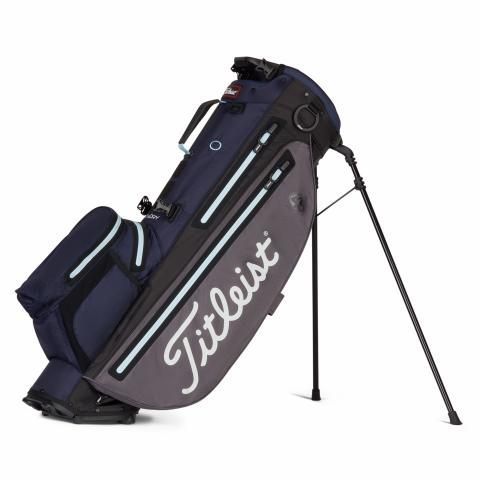 Titleist Players 4 Plus StaDry Waterproof Golf Stand Bag Graphite/Navy/Sky