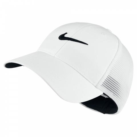 7c6230bd468a53 Nike Legacy 91 Tour Mesh Cap White/Black | Scottsdale Golf