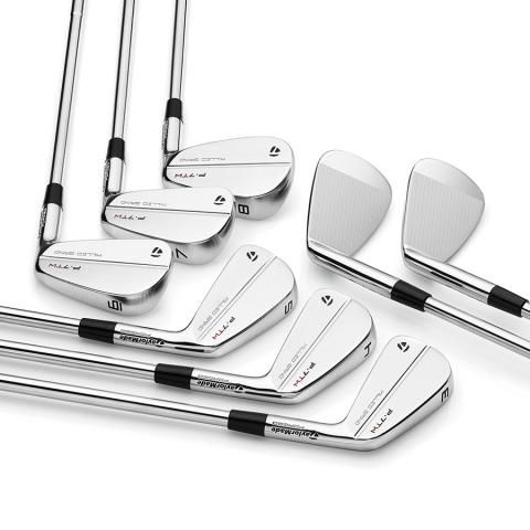 TaylorMade P7TW Tiger Woods Golf Irons Steel