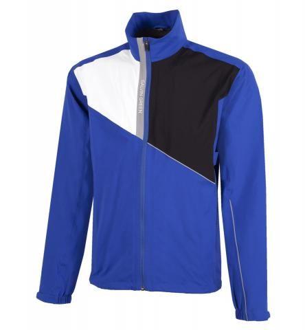 Galvin Green Apollo Gore-Tex Paclite Waterproof Golf Jacket Surf Blue/White/Black/Sharkskin