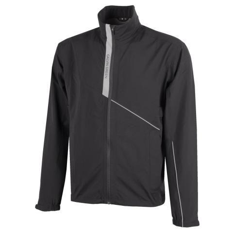 Galvin Green Apollo Gore-Tex Paclite Waterproof Golf Jacket Black/Sharkskin