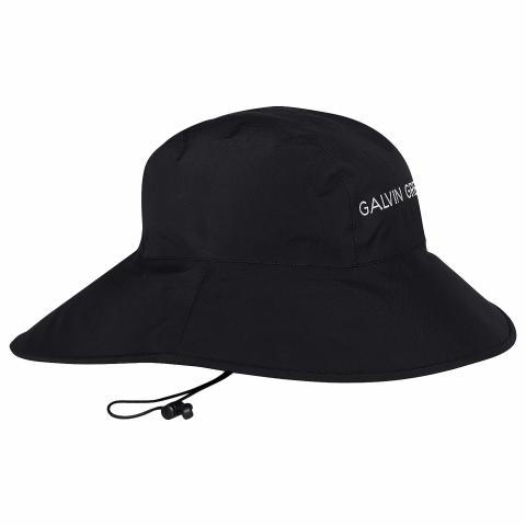 Galvin Green Aqua Oversize Waterproof Hat Black