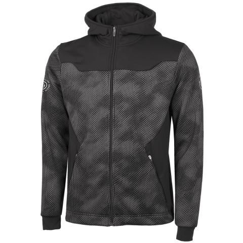 Galvin Green Dante Insula Full Zip Hoodie Black