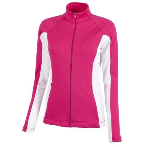 Galvin Green Davina Ladies Insula Jacket Deep Pink/White